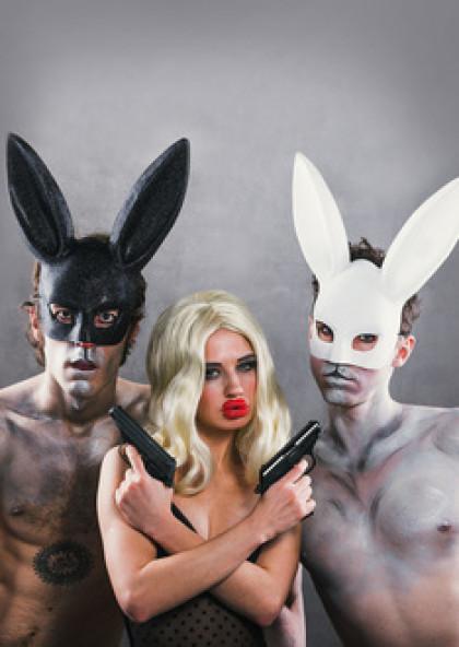За двома зайцями