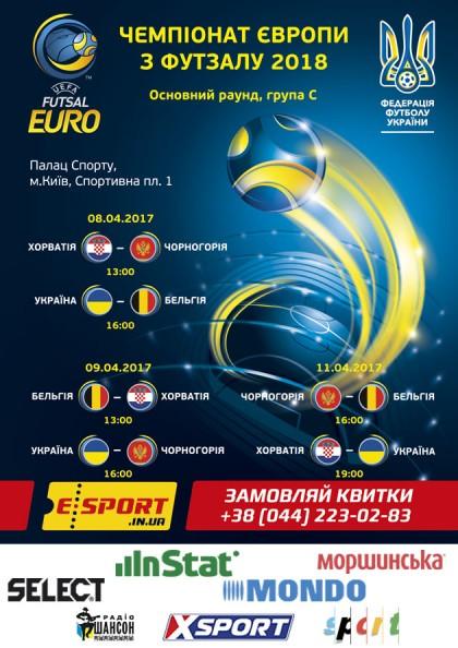 Чемпіонат Європи с ФУТЗАЛУ 2018