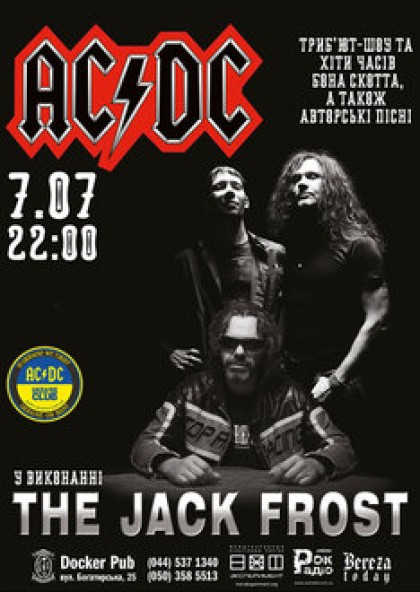 The Jack Frost  - Tribute AC/DC